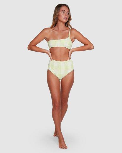 10 Picnic Check Hi Retro Bikini Bottoms Green 6504763 Billabong