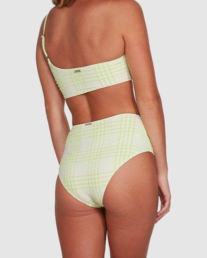 6 Picnic Check Hi Retro Bikini Bottoms Green 6504763 Billabong
