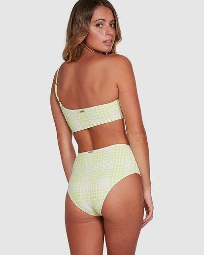 7 Picnic Check Hi Retro Bikini Bottoms Green 6504763 Billabong