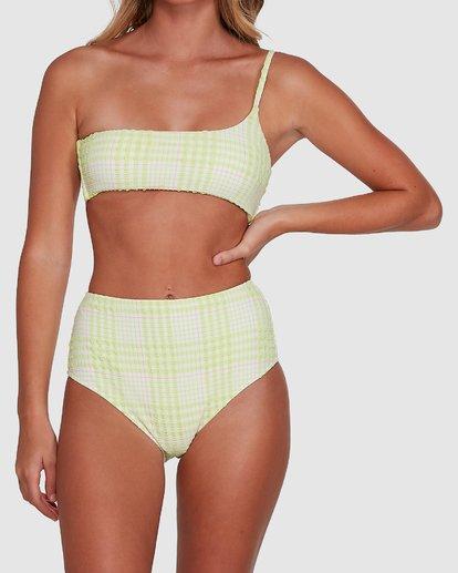 8 Picnic Check Hi Retro Bikini Bottoms Green 6504763 Billabong