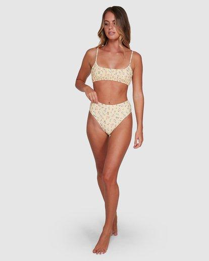 10 Pretty Moon Hi Maui Bikini Bottoms Yellow 6504768 Billabong
