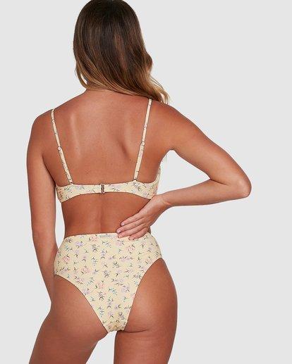 7 Pretty Moon Hi Maui Bikini Bottoms Yellow 6504768 Billabong