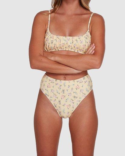 8 Pretty Moon Hi Maui Bikini Bottoms Yellow 6504768 Billabong