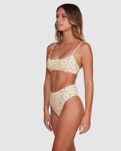 3 Pretty Moon Hi Maui Bikini Bottoms Yellow 6504768 Billabong
