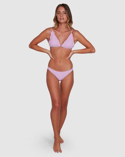 7 Surf Check Tropic Bikini Bottoms Purple 6504773 Billabong