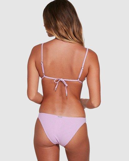 4 Surf Check Tropic Bikini Bottoms Purple 6504773 Billabong