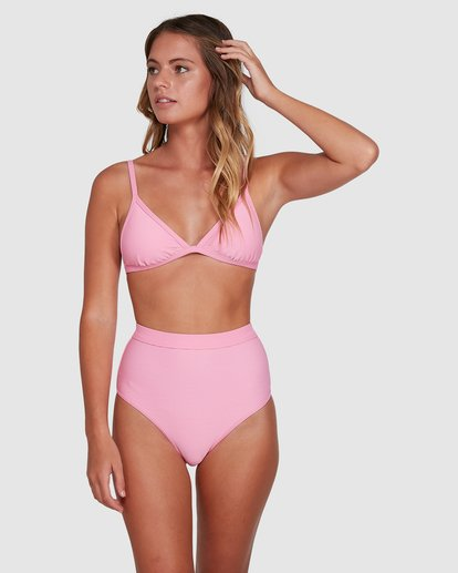 4 Marina Ivy Tri Bikini Top Pink 6504785 Billabong