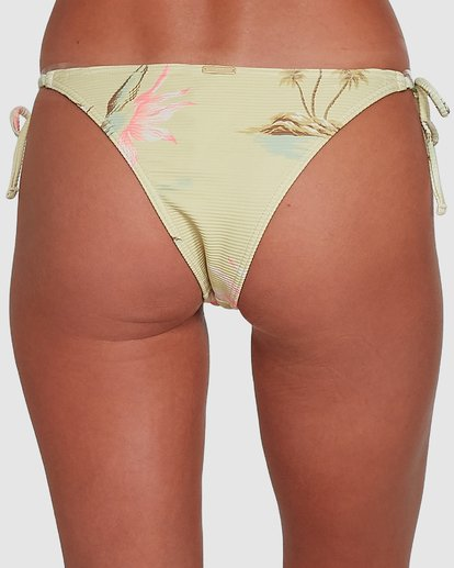 4 Maui Babe Tie Side Isla Bikini Bottoms Yellow 6504795 Billabong