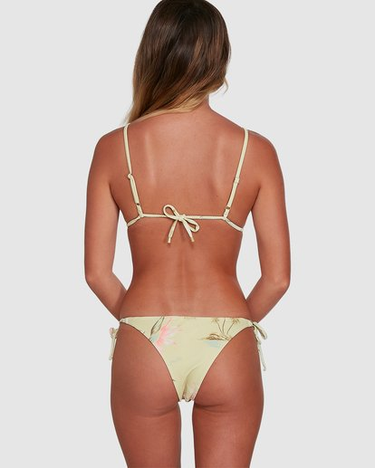 6 Maui Babe Tie Side Isla Bikini Bottoms Yellow 6504795 Billabong