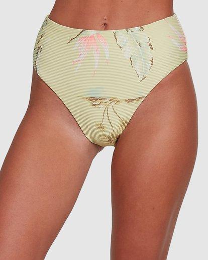 3 Maui Babe Hi Maui Bikini Bottoms Yellow 6504797 Billabong