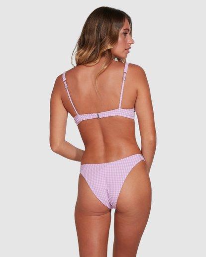 6 Surf Check Bra Bikini Top Purple 6504829 Billabong