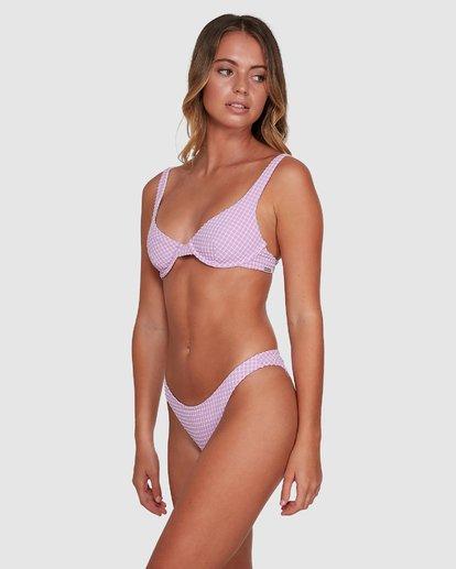 5 Surf Check Bra Bikini Top Purple 6504829 Billabong