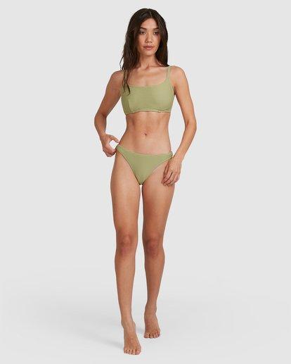 4 Tanlines Mia D/DD Bralette Bikini Top Green 6504842 Billabong