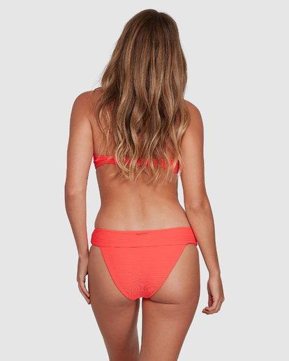 5 Tanlines Lulu Bandeau Bikini Top Orange 6504848 Billabong