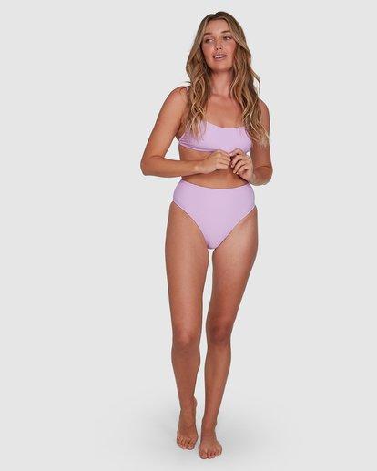 6 Tanlines High Maui Bikini Bottoms Purple 6504850 Billabong