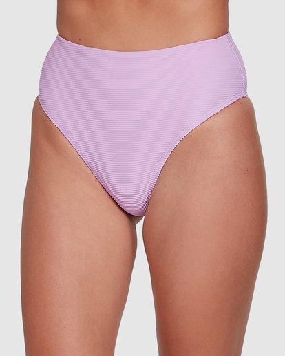 3 Tanlines High Maui Bikini Bottoms Purple 6504850 Billabong