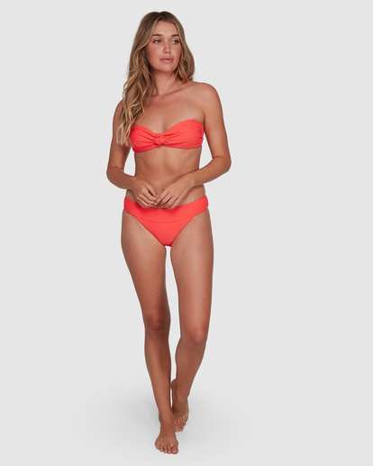 9 Tanlines Banded Tropic Bikini Bottoms Orange 6504851 Billabong