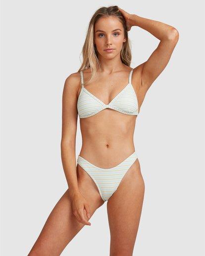 6 Broadwalk Ivy Fixed Tri Bikini Top Blue 6504859 Billabong
