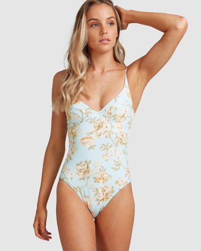 2 Laguna Ava Bra One Piece Blue 6504869 Billabong