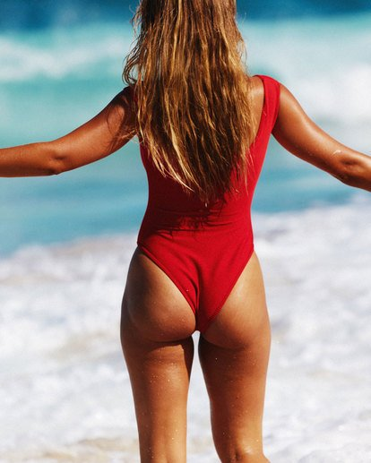 1 Lovedays One Piece - Steph Claire Smith Red 6504904 Billabong