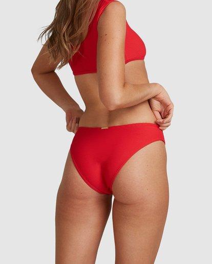 7 Lovedays Bondi Bikini Bottoms - Steph Claire Smith Red 6504908 Billabong