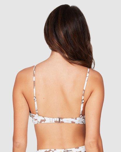 3 Slow Daze Bralette Bikini Top Brown 6506007X Billabong