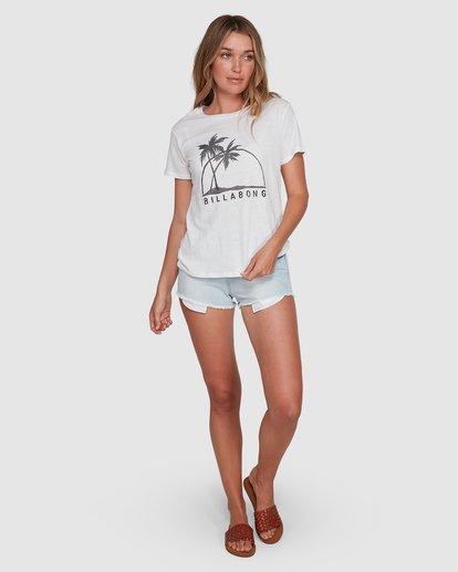 6 Palm Horizon White 6507014AS Billabong