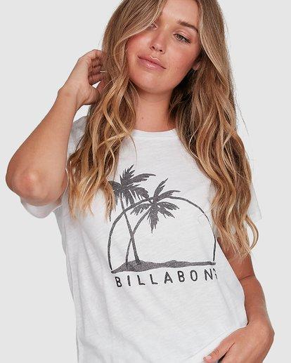 4 Palm Horizon White 6507014AS Billabong
