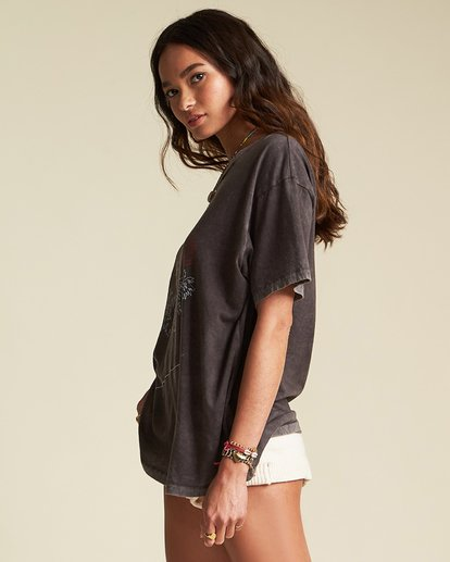 1 Poster Child Tee - Sincerely Jules Collection Black 6507014M Billabong