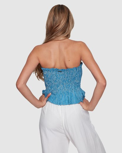 3 Well Grounded Top Blue 6507114 Billabong