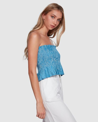 2 Well Grounded Top Blue 6507114 Billabong