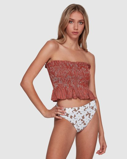 1 Well Grounded Top Brown 6507114 Billabong