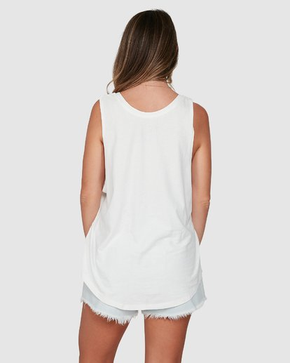 4 Coconut Club Tank White 6507188M Billabong
