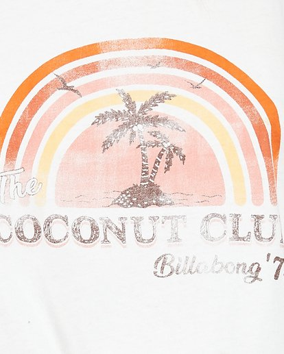 5 Coconut Club Tank White 6507188M Billabong