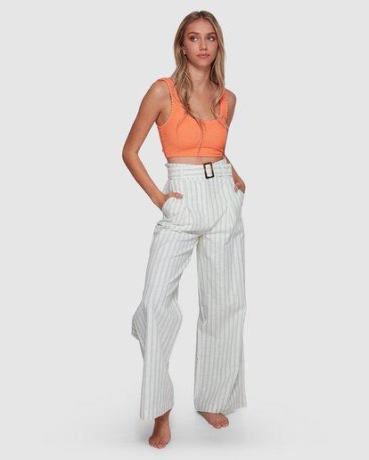 4 Blue Ray Belted Pant Beige 6507401 Billabong