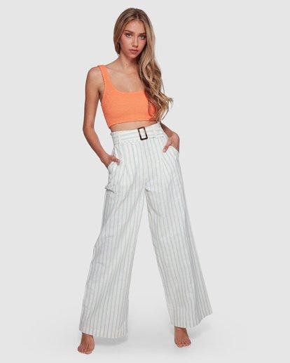 1 Blue Ray Belted Pant Beige 6507401 Billabong