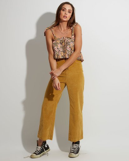 0 Bronte Cord Pant Yellow 6507405 Billabong