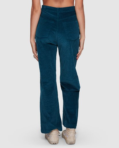 4 Bronte Cord Pant Blue 6507405 Billabong