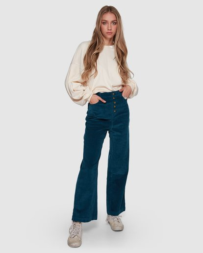 0 Bronte Cord Pant Blue 6507405 Billabong