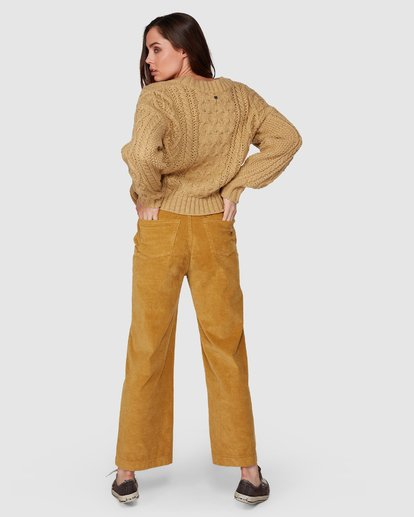 3 Bronte Cord Pant Yellow 6507405 Billabong