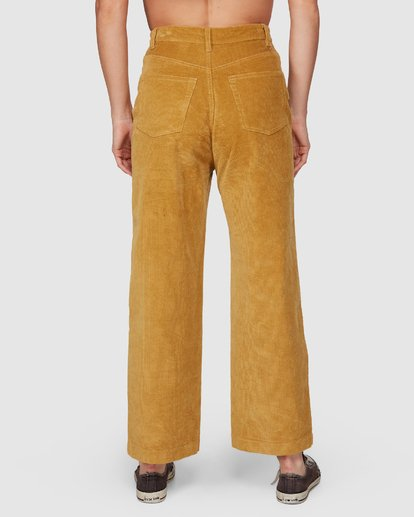 5 Bronte Cord Pant Yellow 6507405 Billabong