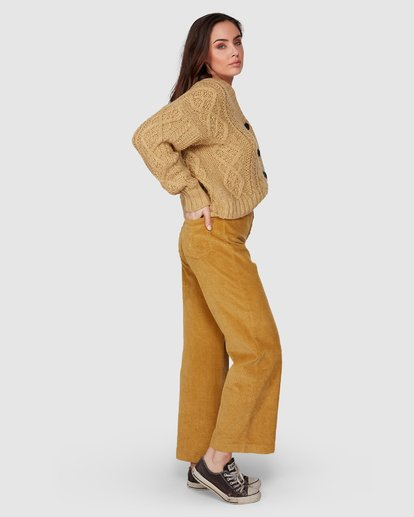 2 Bronte Cord Pant Yellow 6507405 Billabong