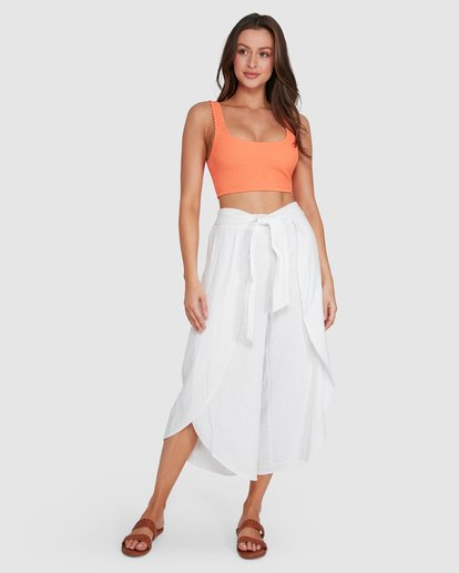 6 In The Clouds Pants White 6507415 Billabong