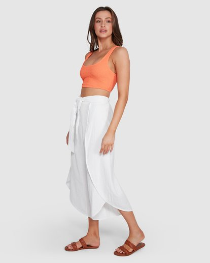 1 In The Clouds Pants White 6507415 Billabong