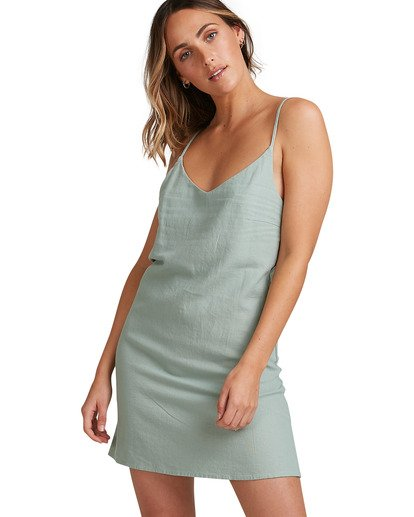 1 Summer Love Dress Green 6507470 Billabong