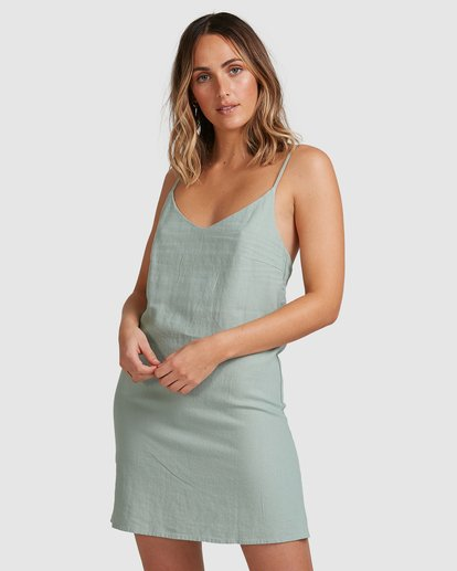 2 Summer Love Dress Green 6507470 Billabong