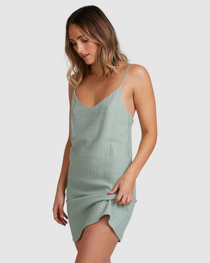 3 Summer Love Dress Green 6507470 Billabong