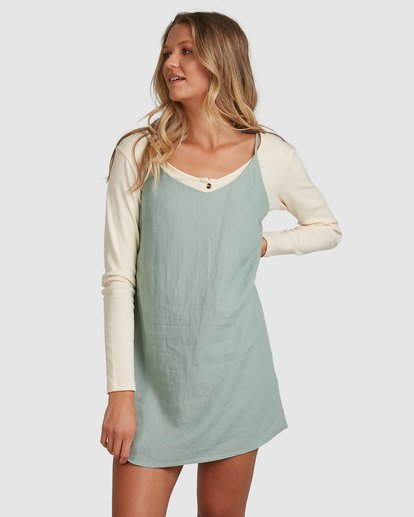 7 Summer Love Dress Green 6507470 Billabong