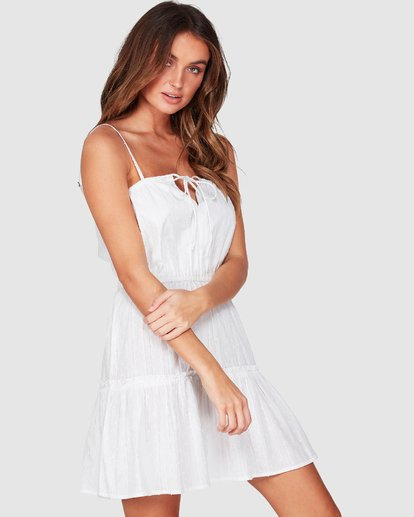 1 Picnic Dress White 6507471 Billabong