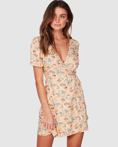 0 Coco Isle Dress Pink 6507472 Billabong